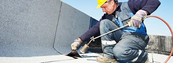 bitumen dak repareren