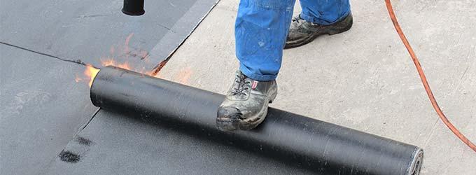 dakbedekking voor plat dak