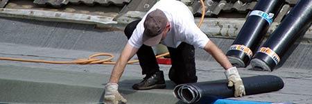 dakbedekking van de schuur vervangen